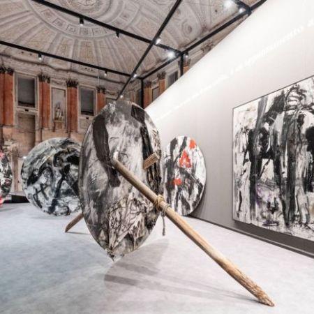 © Ph. Marco Cappelletti | Emilio Vedova, Palazzo Reale, MIlano, allestimento