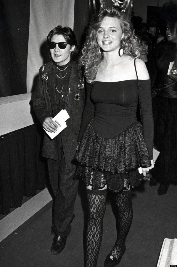 Corey Feldman e Heather Graham nel 1988