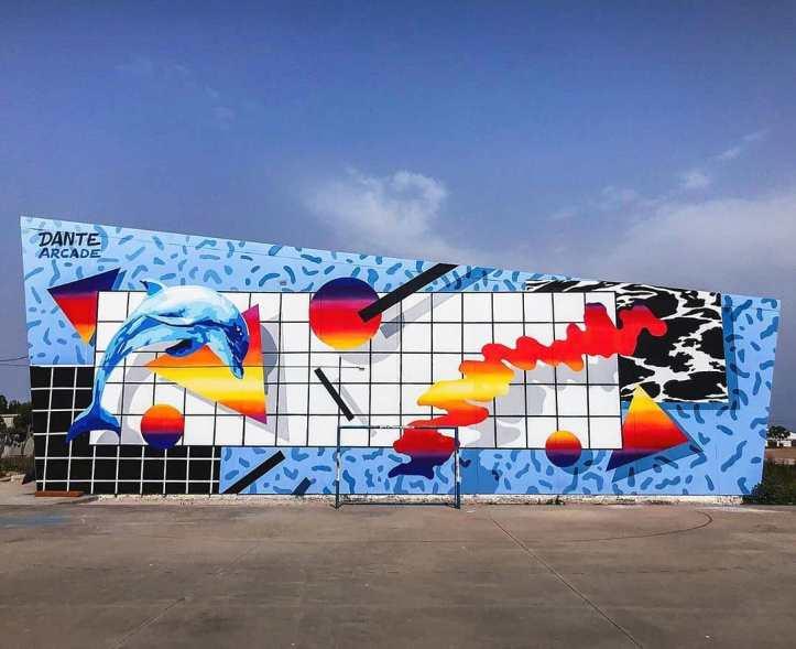 Dante Arcade @ Cartagena, Spain