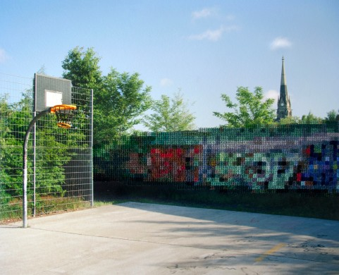 Diane Meyer - Basketball Court Park an Nordbahnhof
