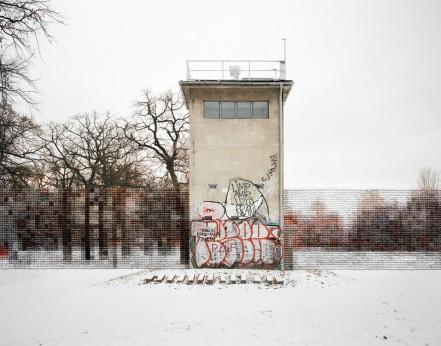 Diane Meyer - Former Guard Tower Off Puschkinallee