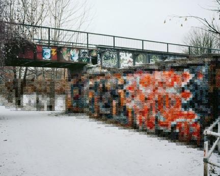 Diane Meyer - Former Wall Area Landwehrkanal