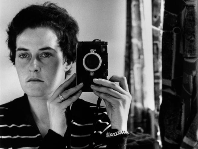 Inge Morath («Autoritratto», Gerusalemme, 1958)
