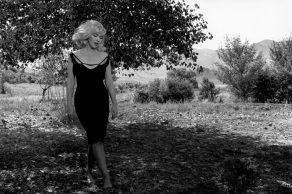 "Inge Morath - Reno, Nevada. 1960. Set of ""The Misfits"". Marilyn MONROE"