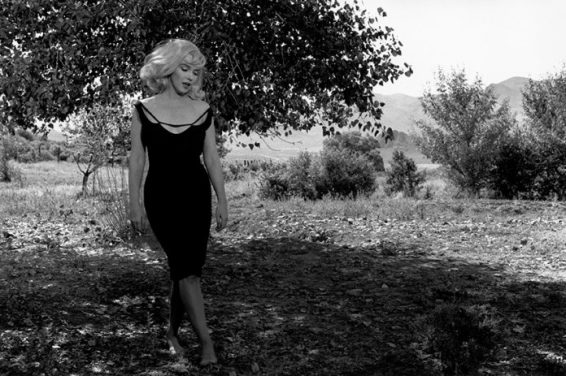 "Inge Morath - Reno, Nevada. 1960. Set of ""The Misfits"". Marilyn MONROE"
