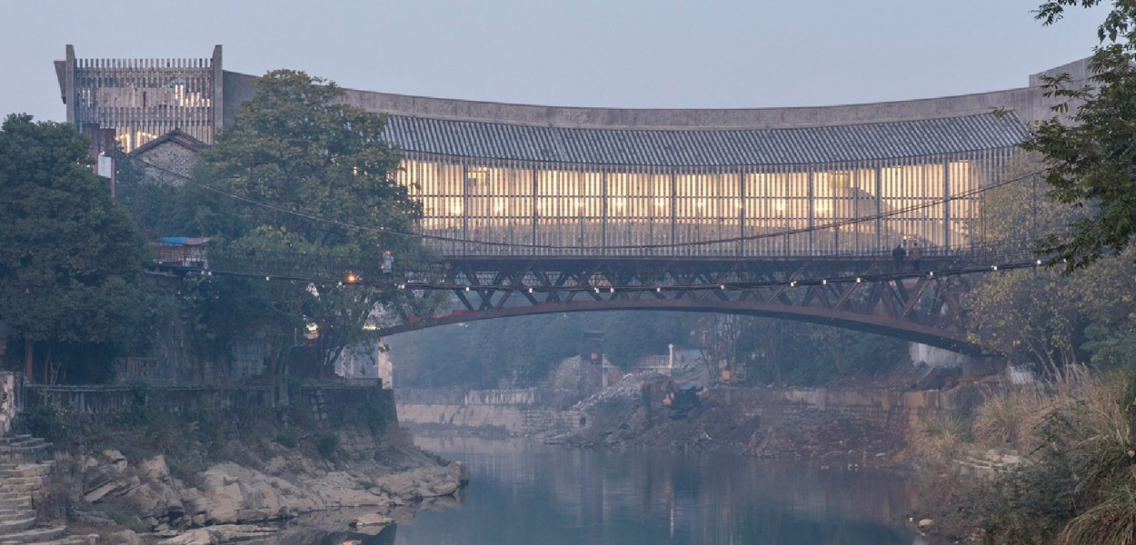 Jishou Art Museum, Jishou, China, by Atelier FCJZ