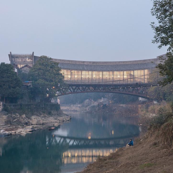 Jishou Art Museum, Jishou, China, by Atelier FCJZ