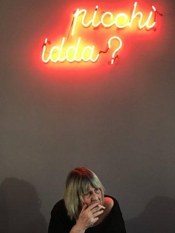 Letizia Battaglia, 14 marzo 2018 © Marilù Balsamo