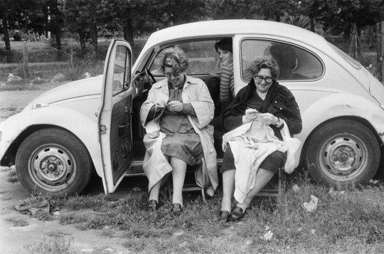 Lunedì di Pasquetta a Piano Battaglia, 1974 © Letizia Battaglia