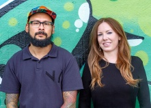 Museum of Graffiti founders Alan Ket and Allison Freidin. Courtesy of the Museum of Graffiti