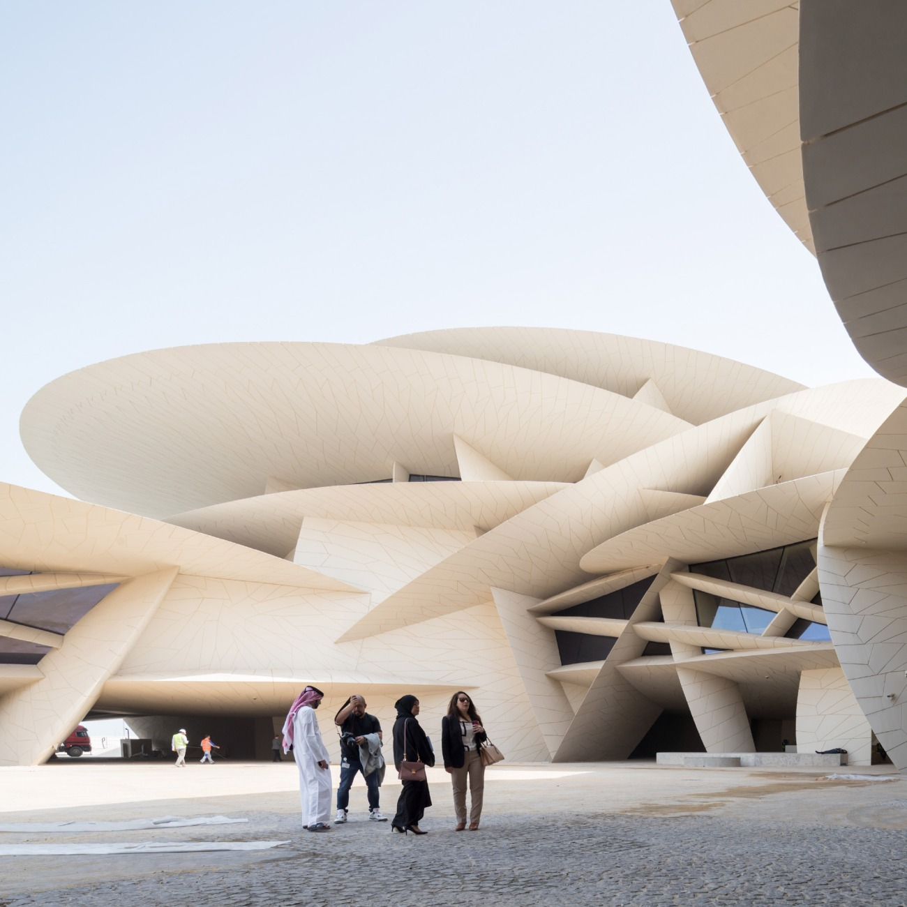 National Museum of Qatar, Doha, Qatar, by Atelier Jean Nouvel