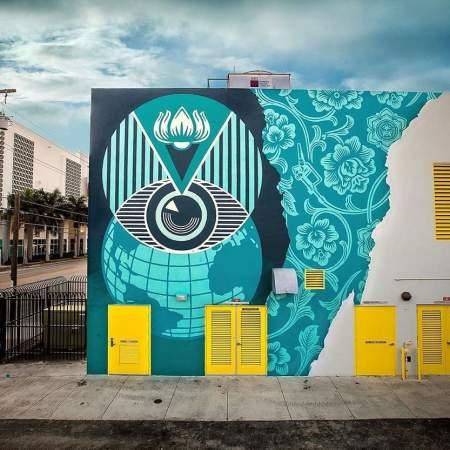 Obey Giant @ Miami, USA