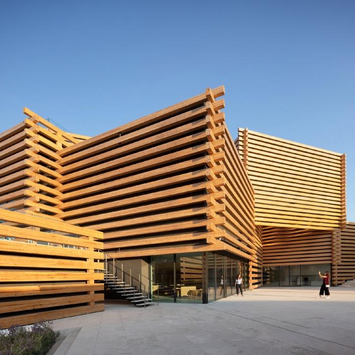 Odunpazari Modern Museum, Eskisehir, Turkey, by Kengo Kuma and Associates