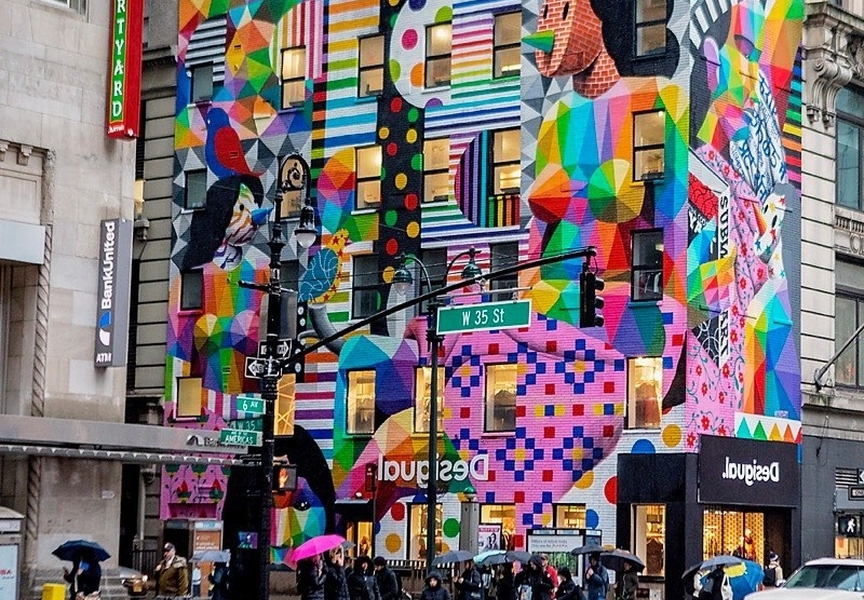 Okudart @ New York, USA