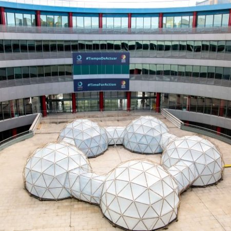 """""""Pollution pods"""" by Michael Pinsky @ Madrid"""
