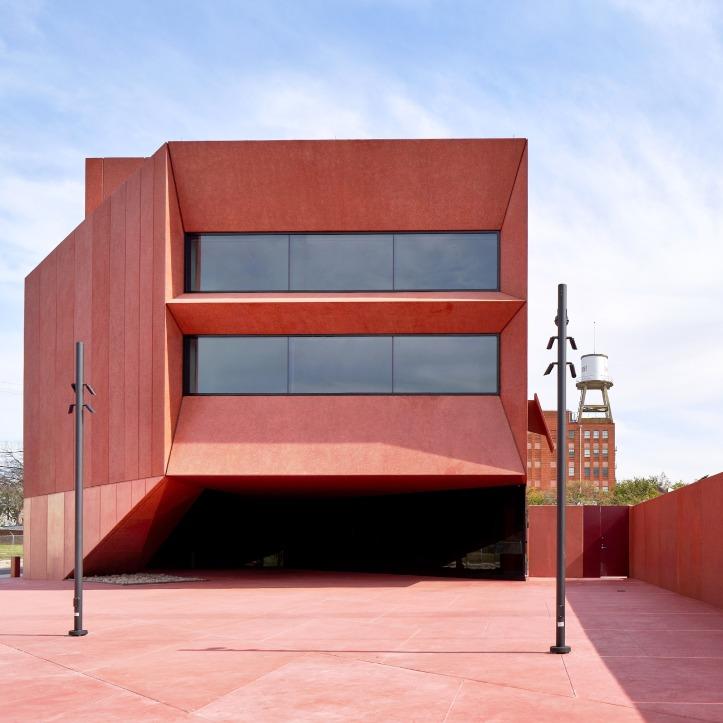 Ruby City, Texas, USA, by Adjaye Associates