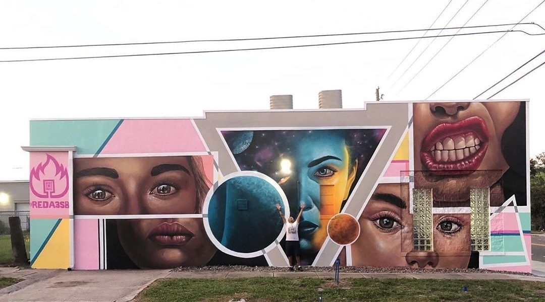 Streetart - Reda Pekatore @ Saint Petersburg, USA