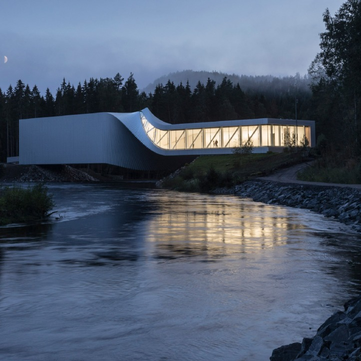 The Twist, Kistefos, Norway, by BIG