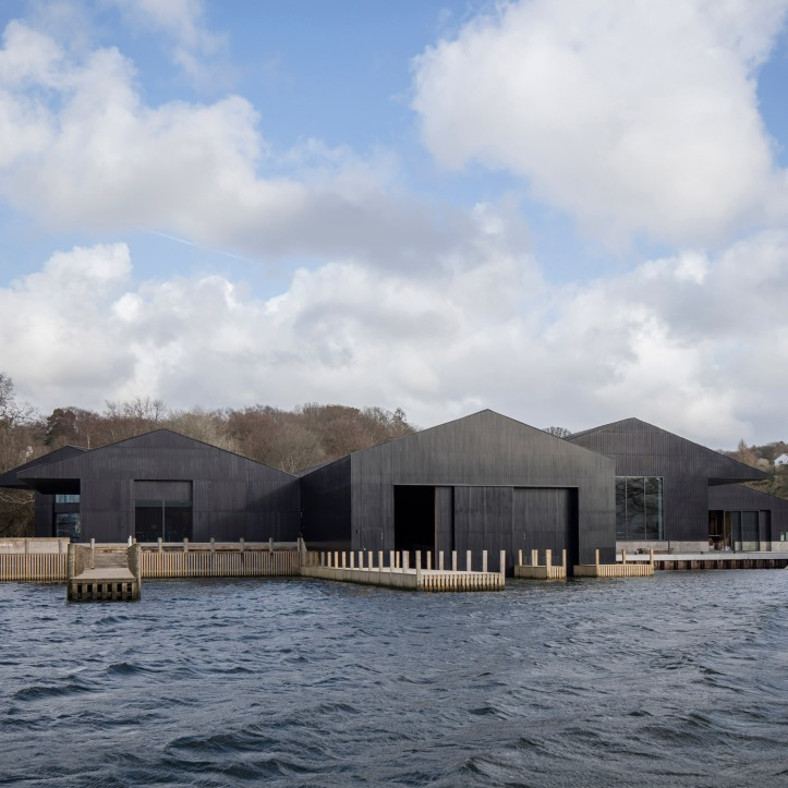 Windermere Jetty museum, the Lake District, England, by Carmody Groarke