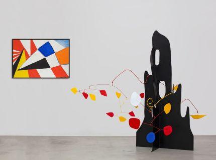 Installation view, 'Calder' at Hauser & Wirth St. Moritz, until 9 February 2020. © 2019 Calder Foundation, New York / Artists Rights Society (ARS), New York / ProLitteris, Zurich. Courtesy the Foundation and Hauser & Wirth