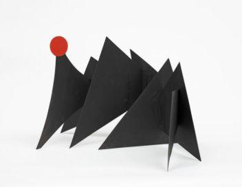 Sun and Mountains (maquette c. 1965) Photo Courtesy of: Calder Foundation, New York / Art Resource, New York © 2019 Calder Foundation, New York / Artists Rights Society (ARS), New York / ProLitteris, Zurich Photos courtesy of Calder Foundation, New York / Art Resource, New York