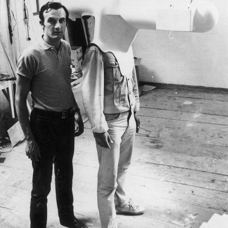 Caschi da realtà virtuale di Walter Pichler, 1967