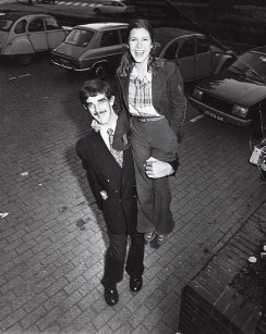 Chewie e Leia, 1977