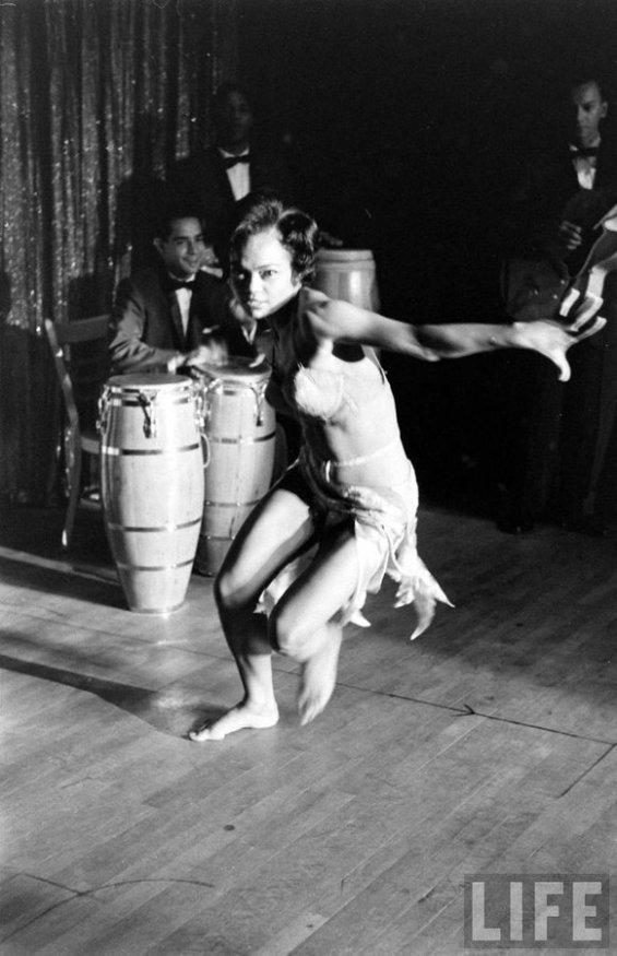 Eartha Kitt by George Silk, 1955