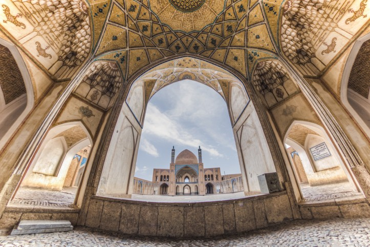 Fatemeh Hosein Aghaei, Agha Bozorg Mosque of Kashan in Iran