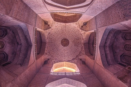 Fatemeh Hosein Aghaei, Ali Qapu Palace of Isfahan, Iran