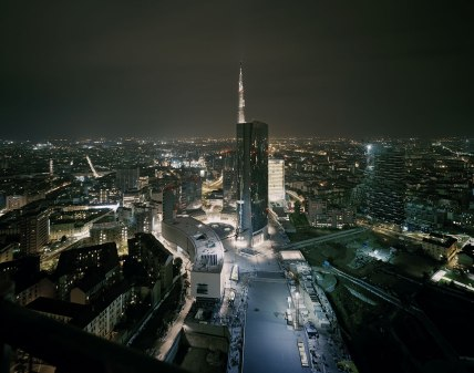 Gabriele Basilico, Milano Porta nuova, 2012   © Archivio Gabriele Basilico