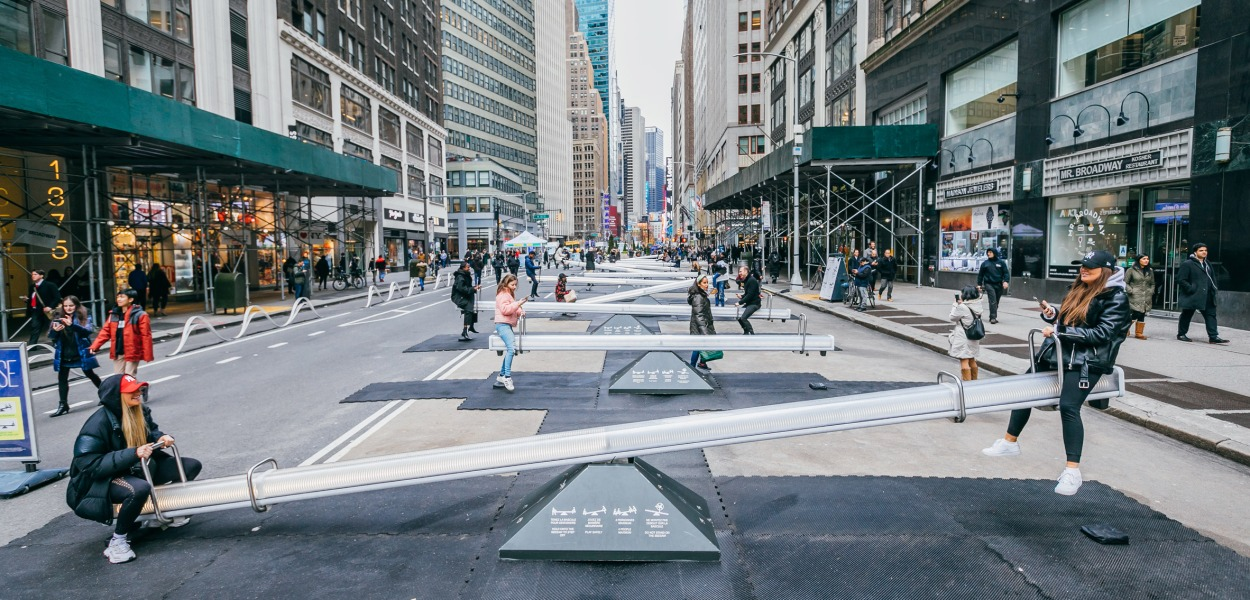 """Impulse"" by Lateral Office @ Garment District, New York"
