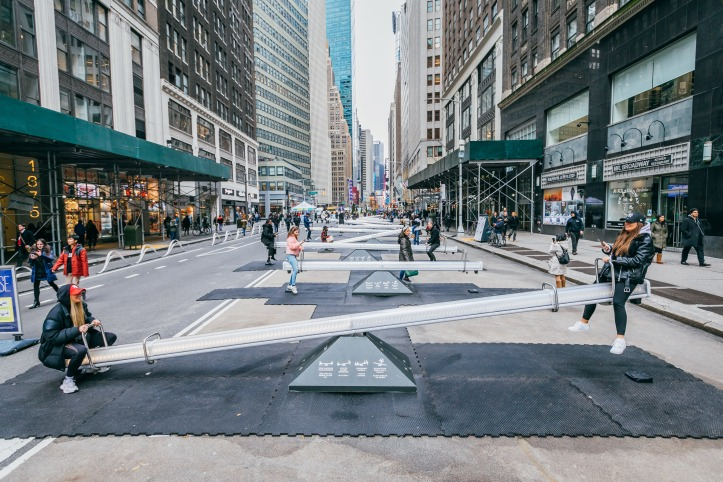 """""""Impulse"""" by Lateral Office @ Garment District, New York"""