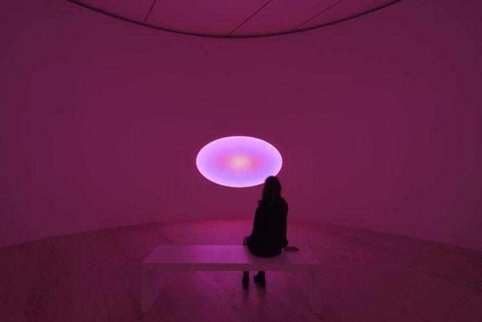 James Turrell. Pasajes de luz. Exhibition view at Museo Jumex, Città del Messico 2019 © James Turrell. Photo Florian Holzherr