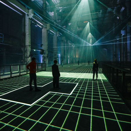 """Latent Being"" by Refik Anadol @ Kraftwerk, Berlino"