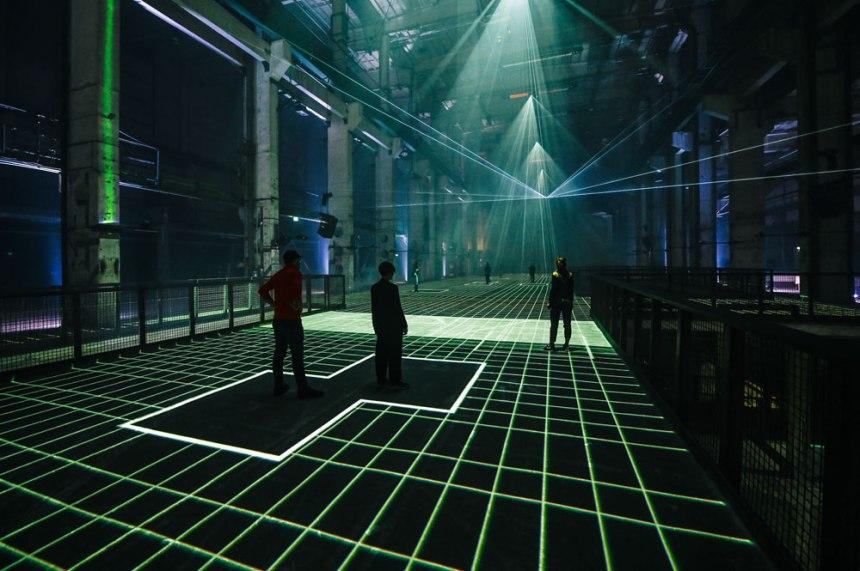 """""""Latent Being"""" by Refik Anadol @ Kraftwerk, Berlino"""