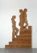 Mario Ceroli, La scala, 1968, legno, 250x170x8 cm, Collezione Floridi (Roma)