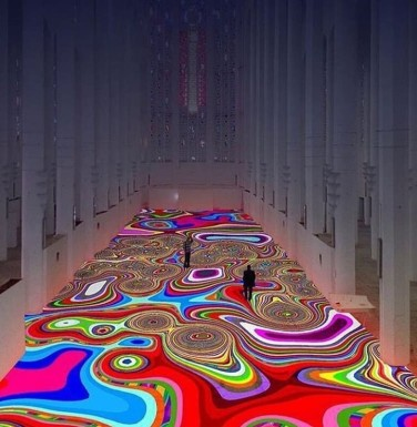 Magic Carpet By Miguel Chevalier