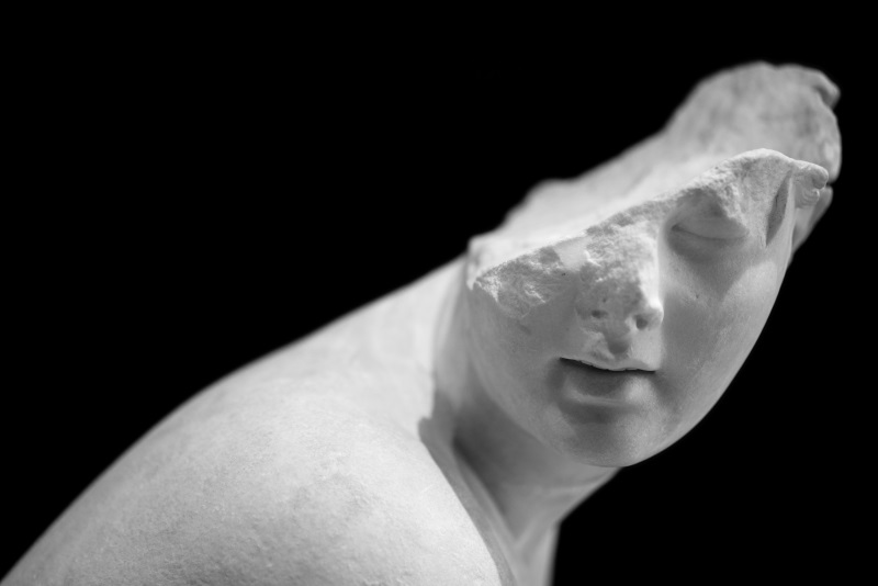 Stefano Cigada, Museo Nazionale Romano, Roma 9.3.2019; 11.07 480x330 mm stampa fine art su carta d'archivio