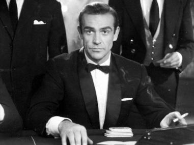 Sean Connery nelle vesti di James Bond
