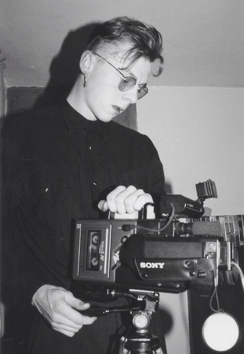 Simon Pegg a 19 anni