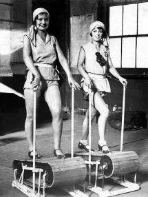 Tapis roulant vintage, 1920 circa