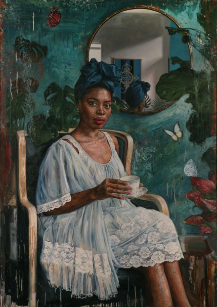 """The Parlor,"" (2019) by Tim Okamura"