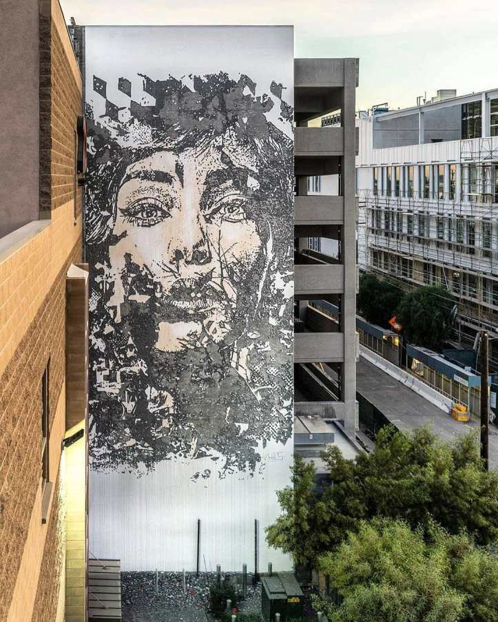 Vhils @ Los Angeles, USA