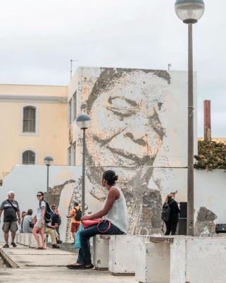 Vhils @ Mindelo, Cape Verde