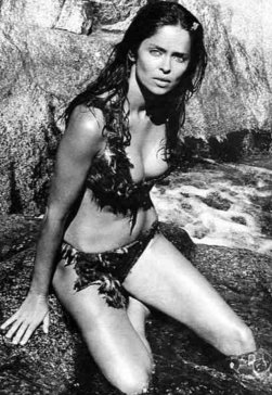 Barbara Bach in 'Caveman', 1981