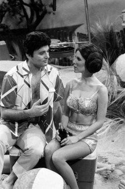 Bill Murray e Carrie Fisher su Saturday Night Live, 1978