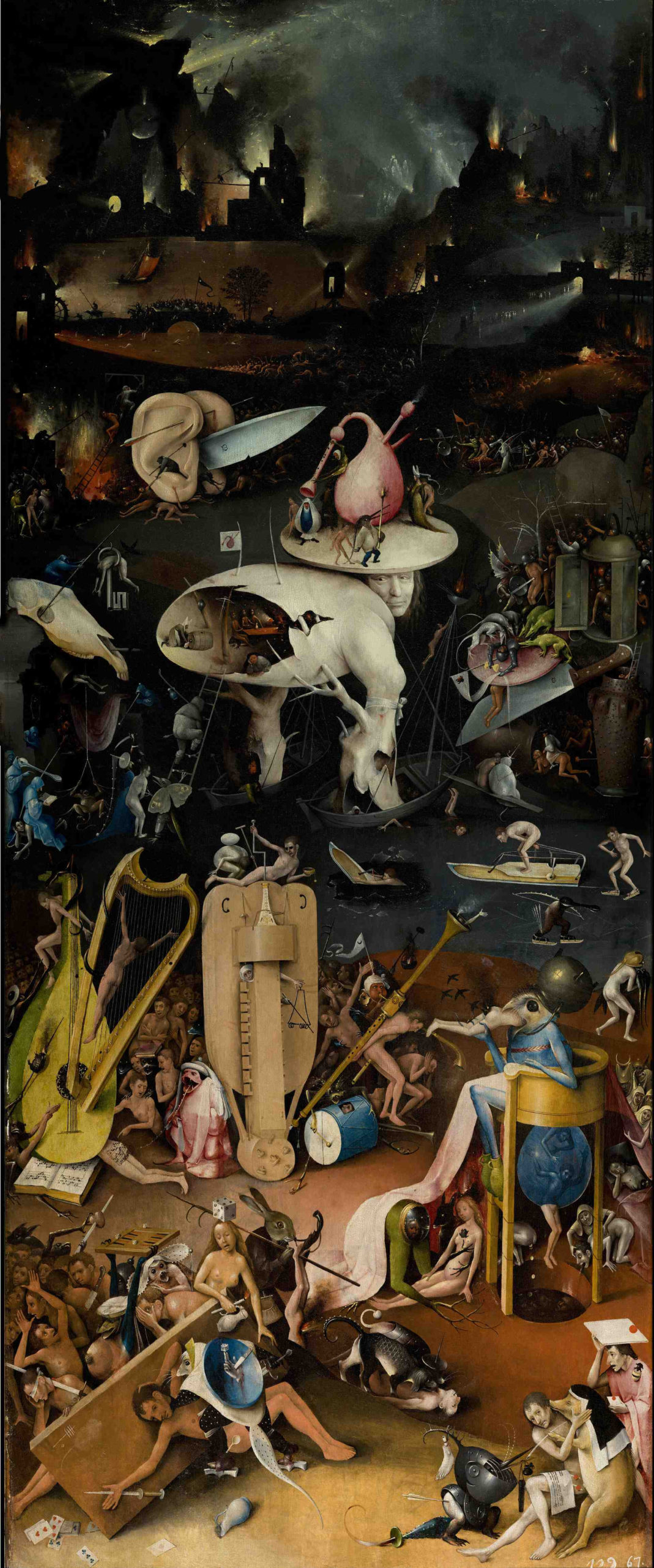 Bosch's The Garden of Earthly Delights (1490-1510)
