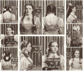 Capelli e costume di Judy Garland per il Mago di Oz