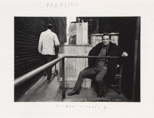 Duane Michals, Pasolini 1969 © Duane Michals Courtesy Admira, Milano